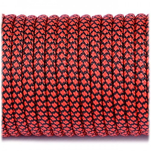 Paracord Survival Red and Black