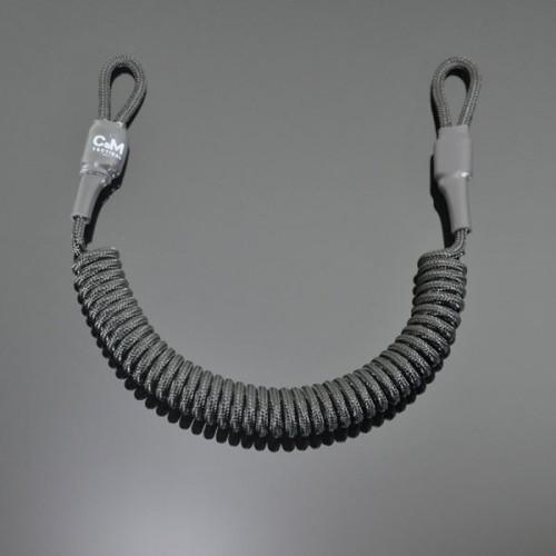 Страховочный шнур под карабины без обвеса черный