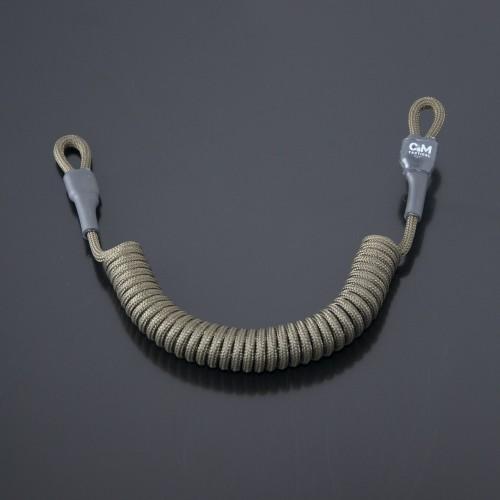 Страховочный шнур под карабины без обвеса олива